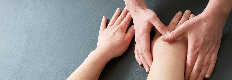 Oedeem-fysiotherapie
